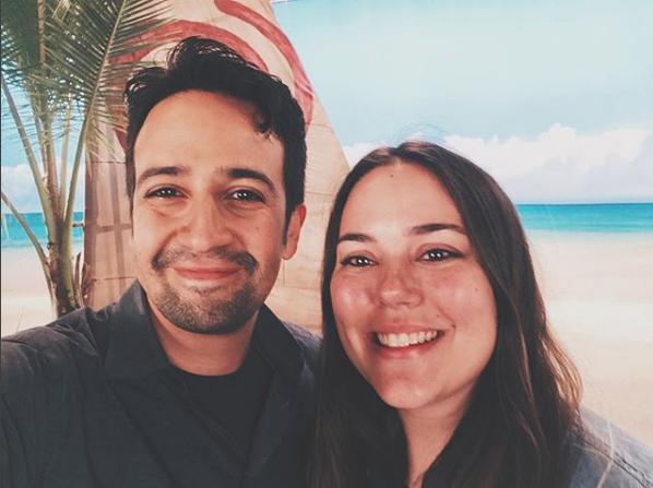 One time I metLin-Manuel Miranda. - I made him take this selfie.