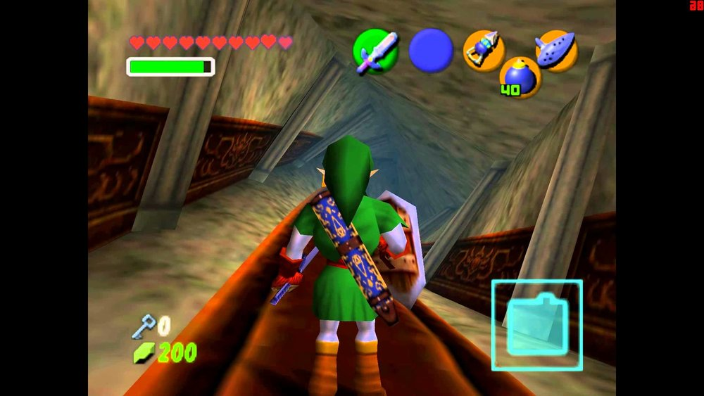 I'm a huge gamer. - The Legend of Zelda: Ocarina of Time is my all-time favorite game.(And Forest Temple is my favorite dungeon)