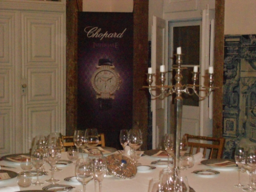 Organización de evento Chopard