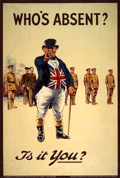 Propaganda Primera Guerra Mundial