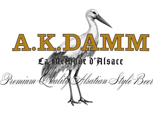 AK Damm logo