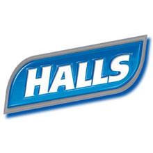 Halls logo small
