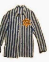Este es el uniforme que llevaban los judíos en los campos de concentración