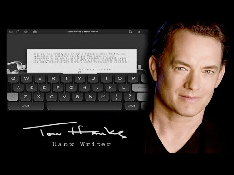 Tom Hanks Hanx Writer