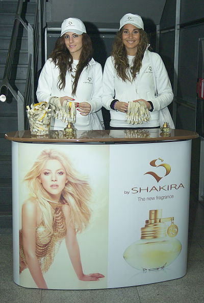 Shakira Sampling Barcelona