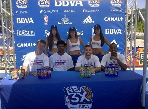 Sixers Flight NBA 3X EAGLE