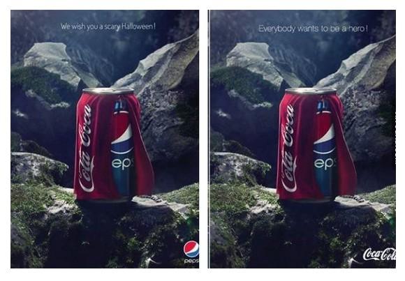 Pepsi Coca-Cola Halloween