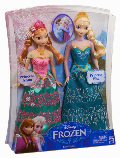 Frozen toy