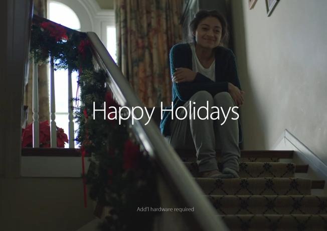 Apple spot Navidad 2014