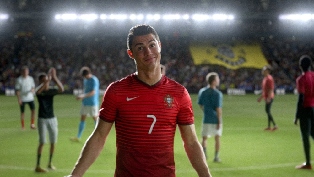 Nike Football winner stays Cristiano Ronaldo