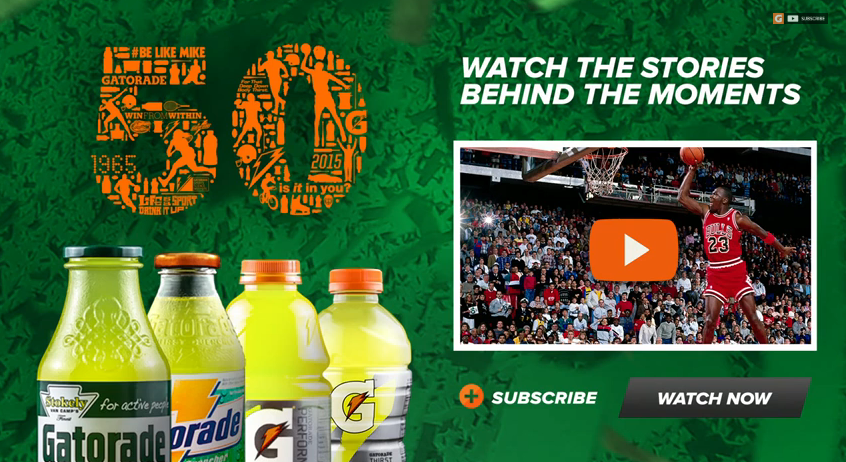 Gatorade 50 years