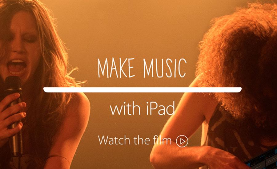 iPad musica Apple