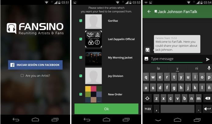Fansino app