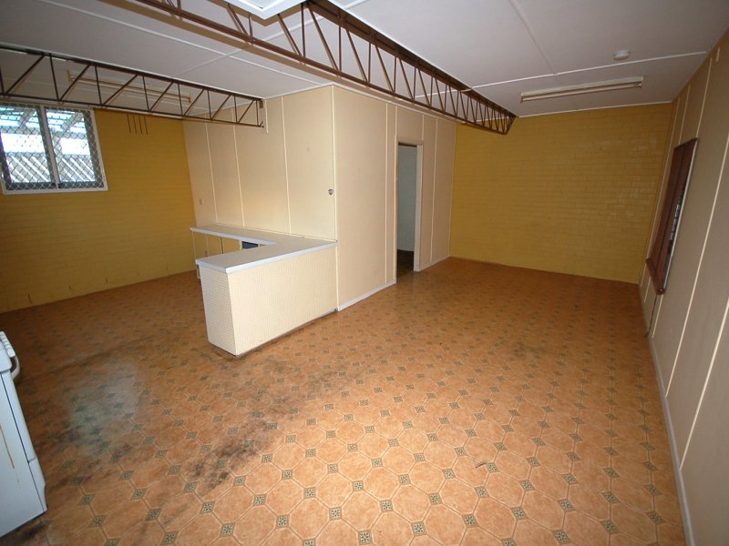 BEFORE - Downstairs Kitchenette, Dining & Lounge