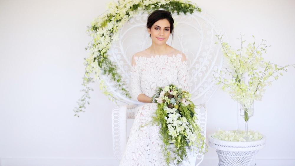 styled shoot   babalou modern wedding inspiration — LAURA BRAIN