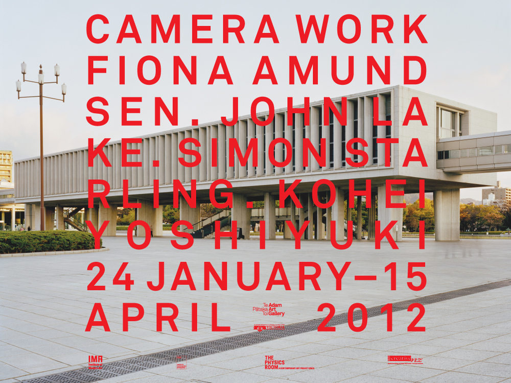 Camera Work, Adam Art Gallery, January 24 - April 15, 2012