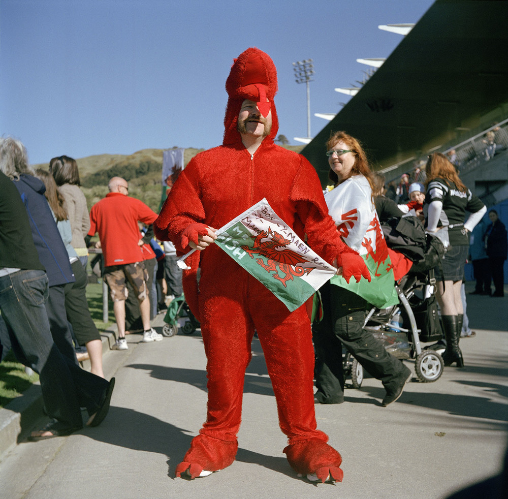 Welsh Rugby supporter, Porirua, September 4, 2011.