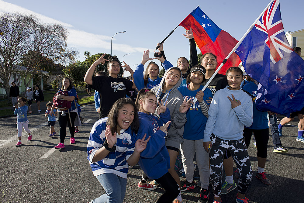 The Porirua Walk for Jerry