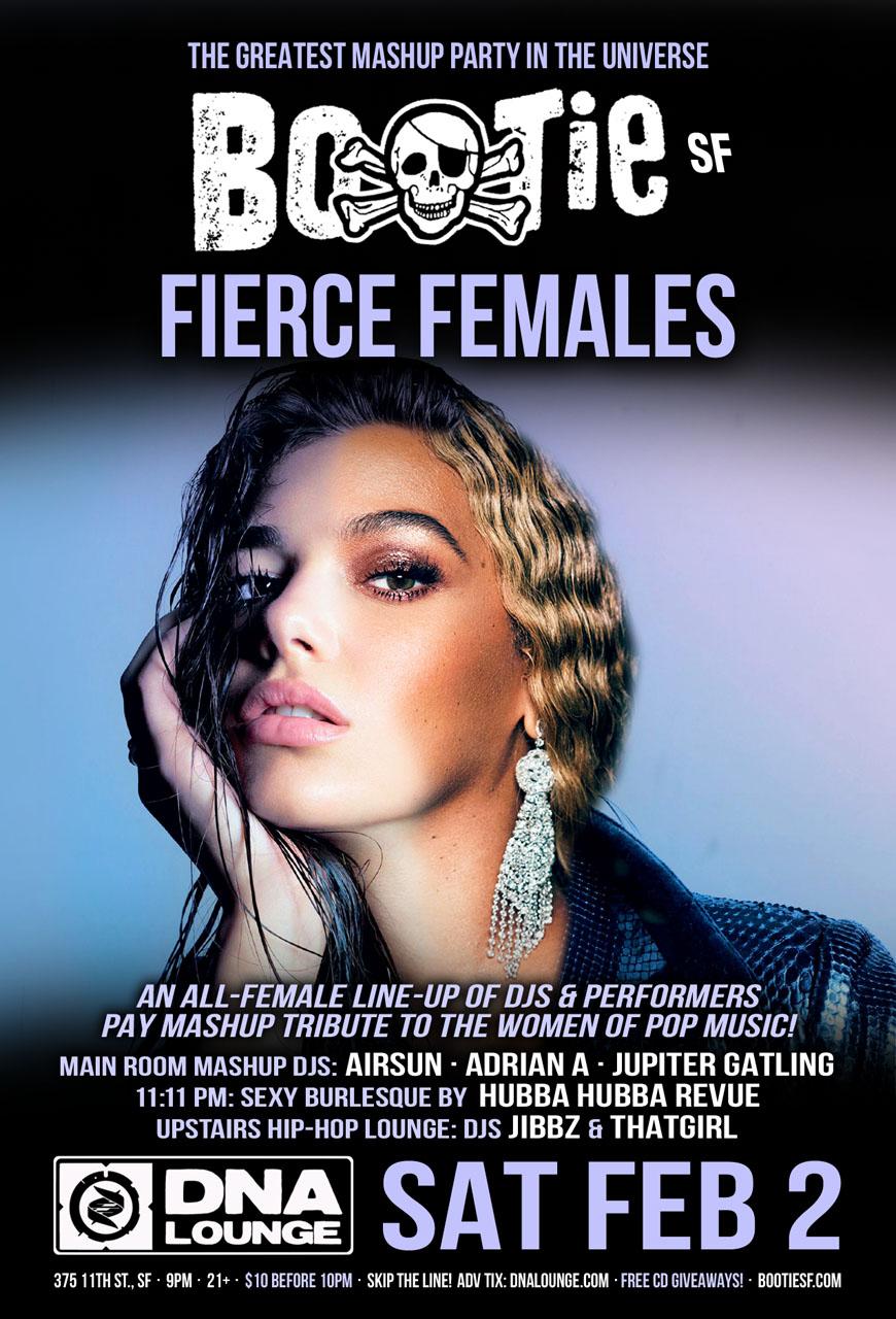 Bootie SF: Fierce Females — Airsun