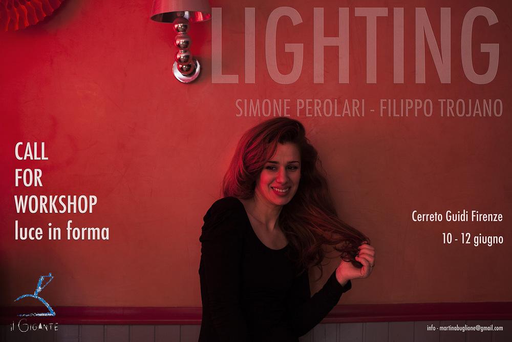 "LIGHTING - workshop ""Luce in forma"""