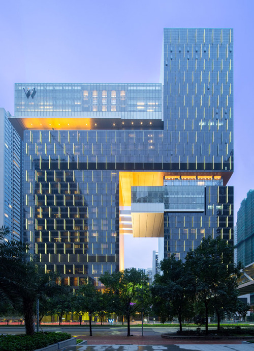 W Guangzhou Hotel & Residences by Rocco Design Architects, Guangdong, China