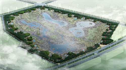 Qunli Stormater Park: A Green Sponge for a Water-Resilient City by Turenscape, Heilongjiang, China