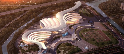 Museum of Ancient Chinese Oracles of Anyang by TONTSEN Fangda Design