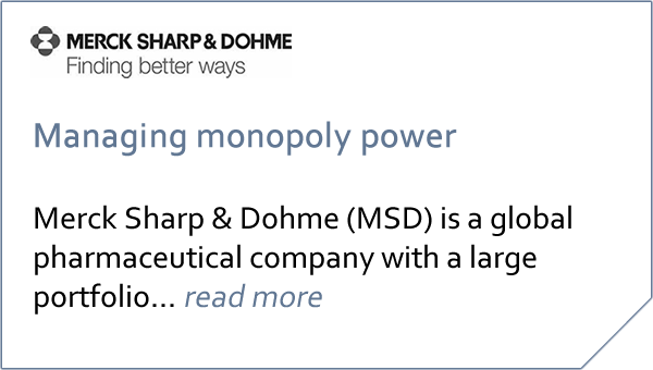 Case study Merck Sharp & Dohme