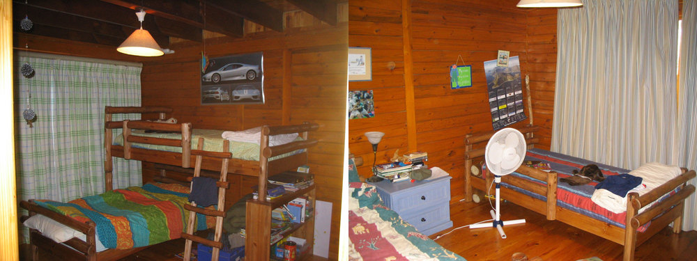 Previous kids bedrooms