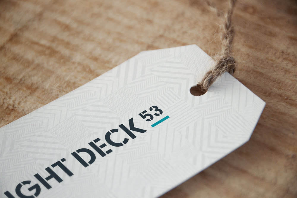Flight Deck 53 POS tags – Design by Ian Whalley