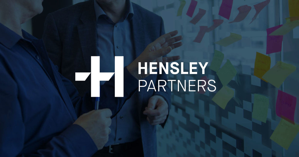 Hensley Partners new brand identity – a symbol of collaboration, positive change and sustainable business results