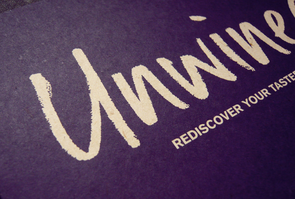 Close-crop on the Unwined logo – Design by Ian Whalley
