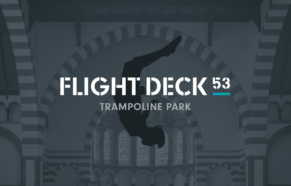 Flight Deck 53 logo – Design by Ian Whalley