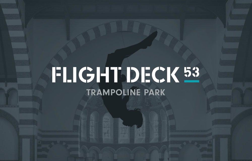Flight Deck 53 logo – Design by Ian Whalley