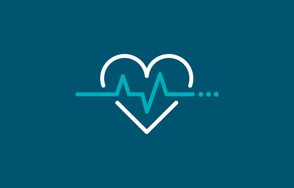 Tomorrow heart health icon – design by Ian Whalley