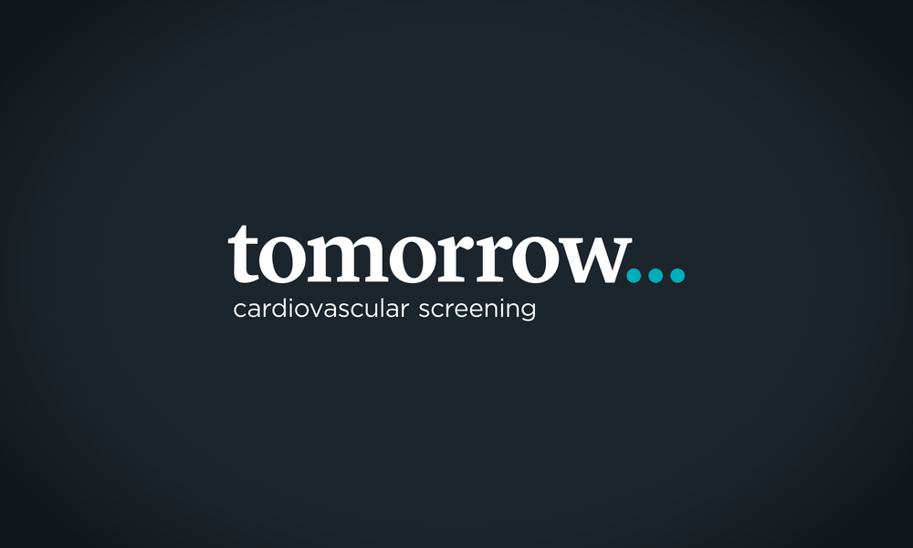 Tomorrow Cardiovascular Screening logo – design by Ian Whalley