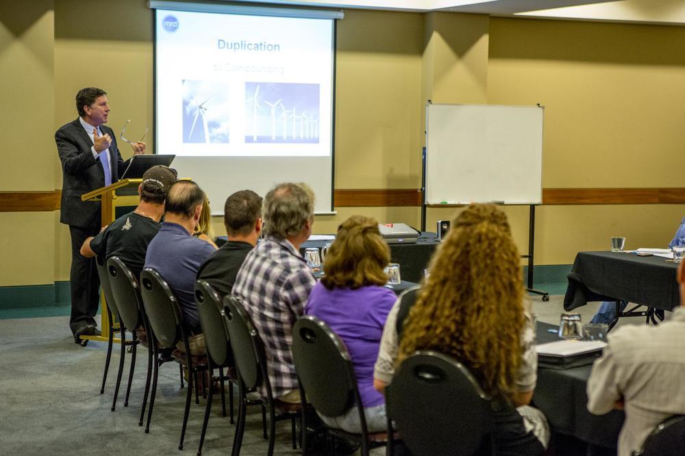 MRD Partners Managing Director, Nick Lockhart speaking in Perth during 2013