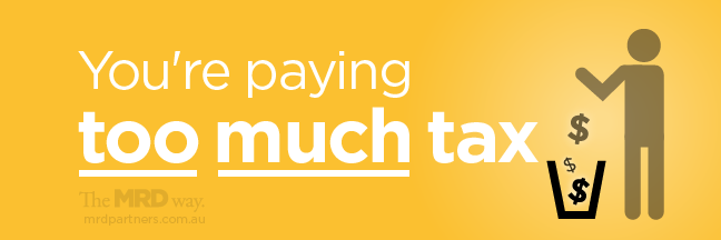 you're paying too much tax