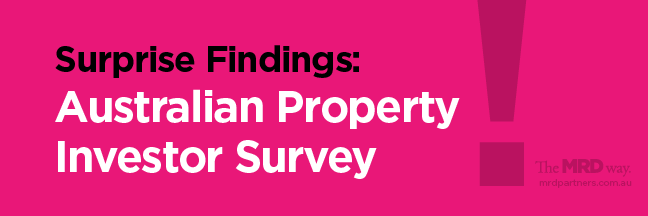 australian property investor survey findings