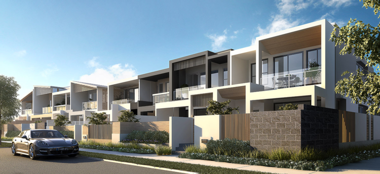 Terrace homes