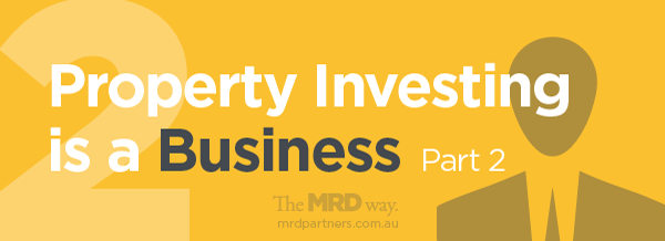property investing is a business