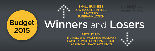 The winners and the losers - budget 2015
