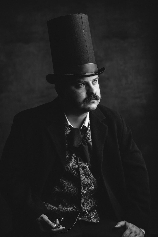 Mustache Portrait