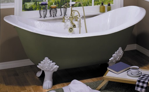 Annie get yer paint gun keeley kraft - Painted clawfoot tub exterior pict ...