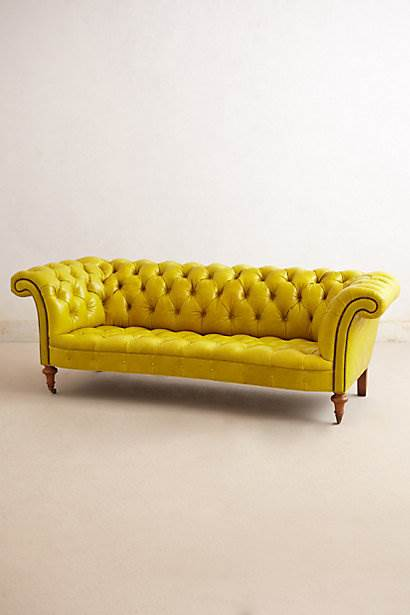 Citrine Chesterfield Sofa