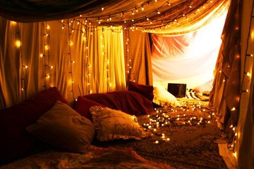 I would make this the inside of the tent, duh.