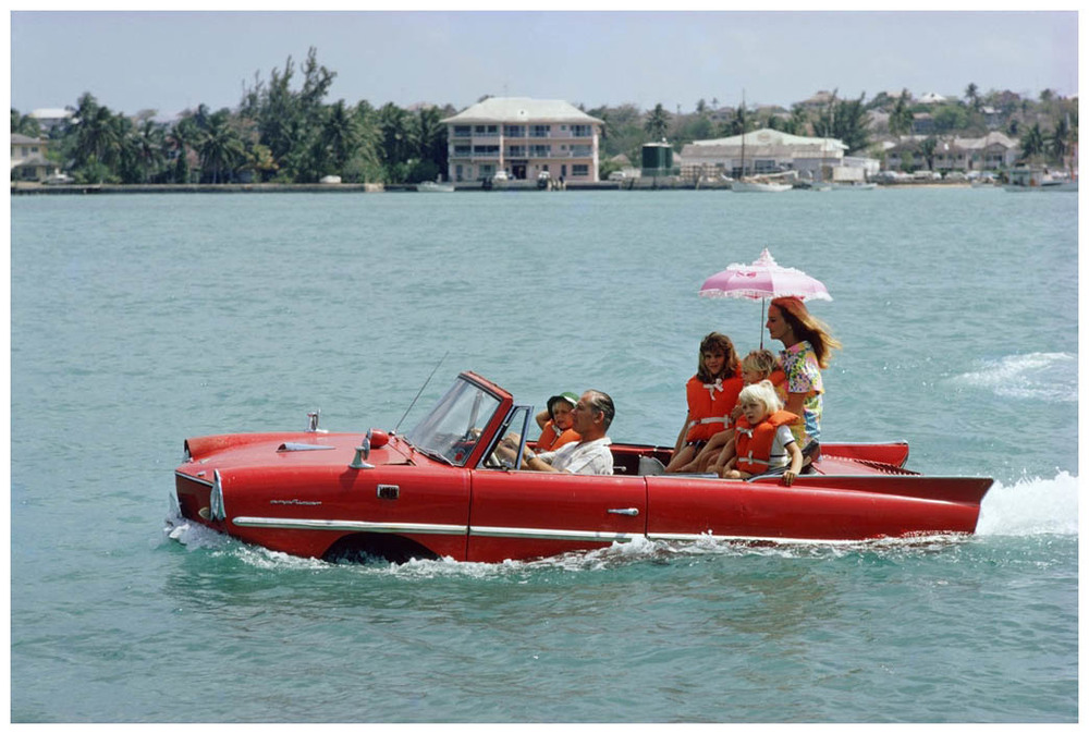 """Yes, I will go for a drive with you in your Amphicar"""