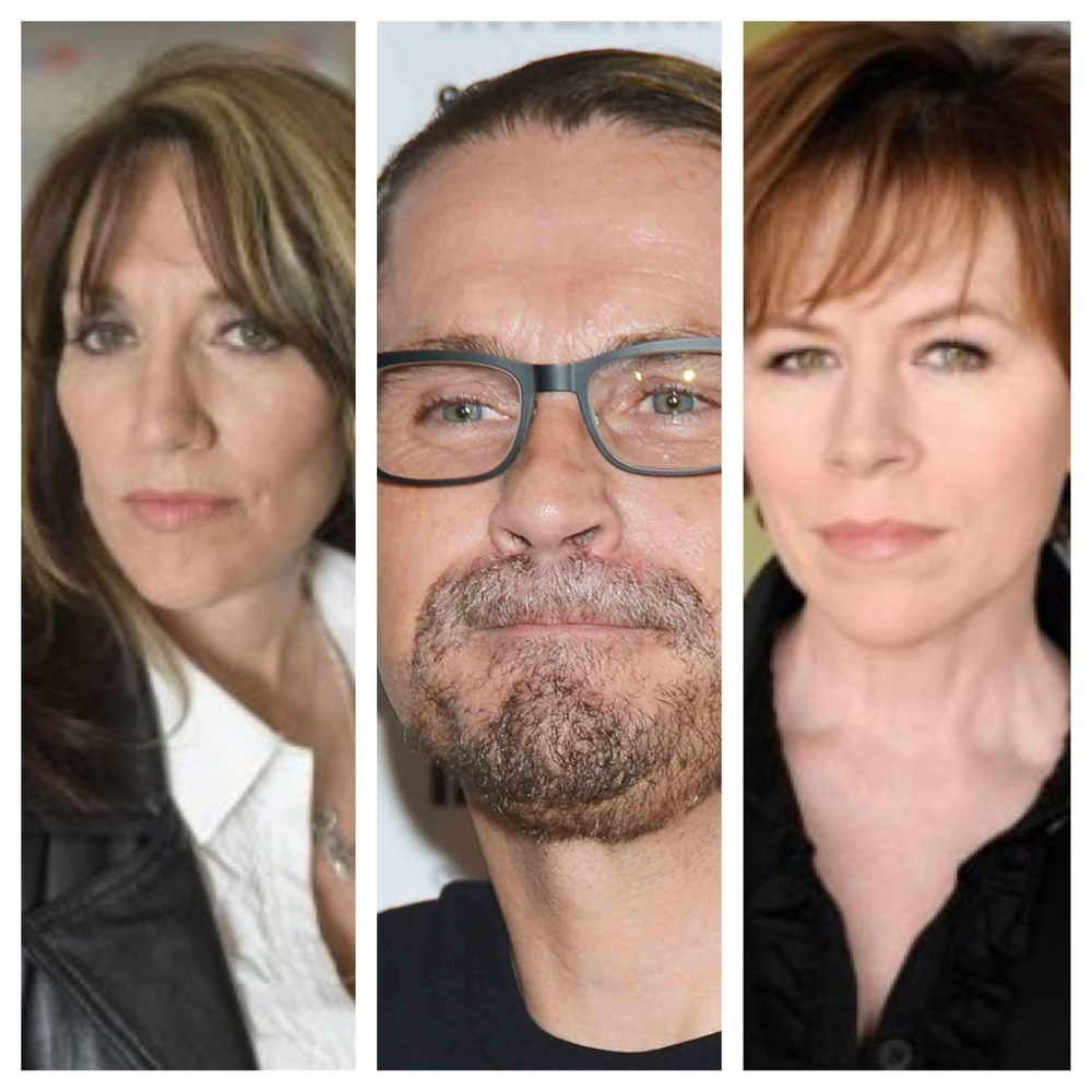 Sons of Anarchy Katey Sagal Kurt Sutter.JPG