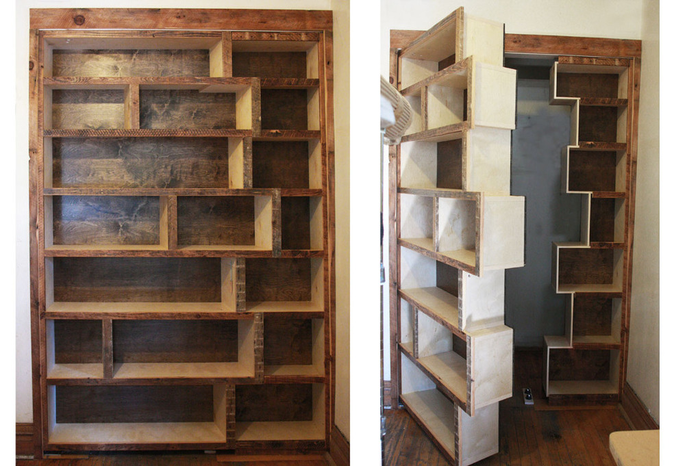 Hidden Doors Bookcase Doors : Secret bookcase doors revealed — keeley kraft