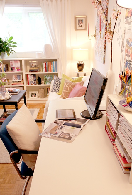 Cozy Home Office White Desk.jpg
